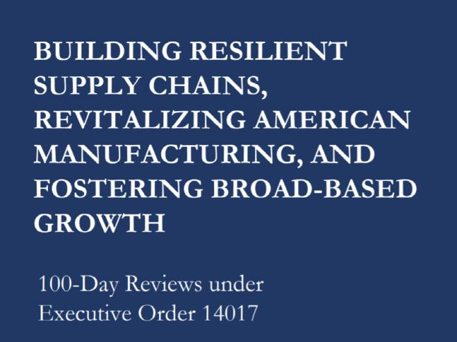 바이든 행정부 4대 핵심 제품 공급망 강화