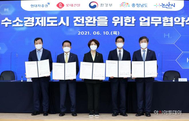 충남 남부권 수소경제 거점 육성 '첫걸음'