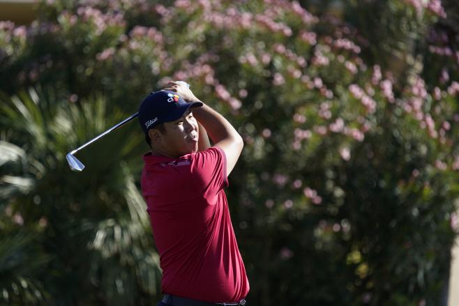 PGA 투어 아메리칸 익스프레스 1R서 .(AP)