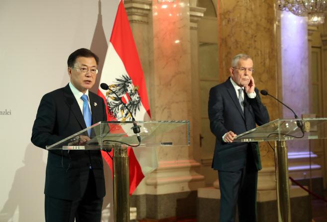 한-오스트리아 정상 공동기자회견