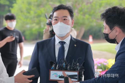 김오수 신임 검찰총장 취임식 참석