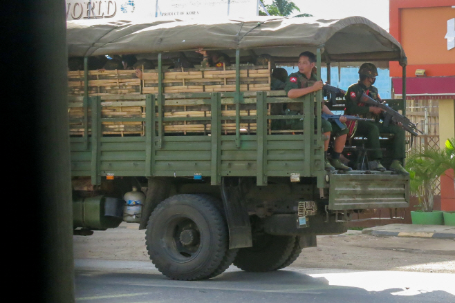Myanmar <YONHAP NO-2054> (AP)