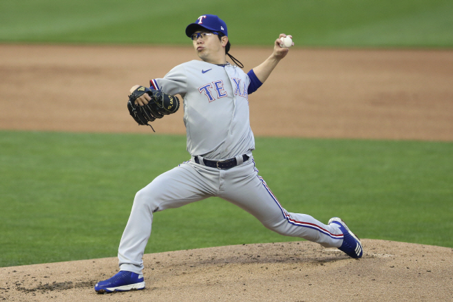 Rangers Twins Baseball <YONHAP NO-2775> (AP)
