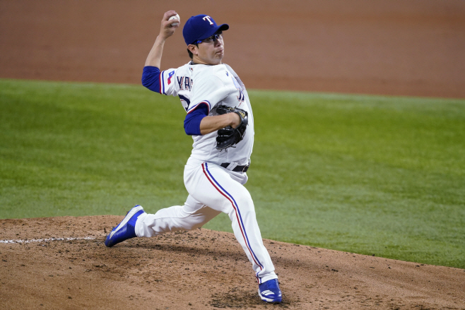 Yankees Rangers Baseball <YONHAP NO-2742> (AP)