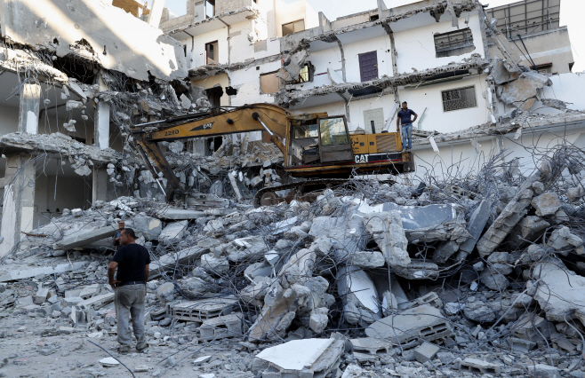 Palestinians Israel <YONHAP NO-0626> (AP)