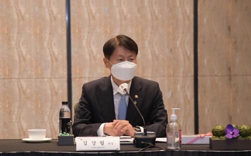 김강립 식약처장, 식품 CEO와 간담회