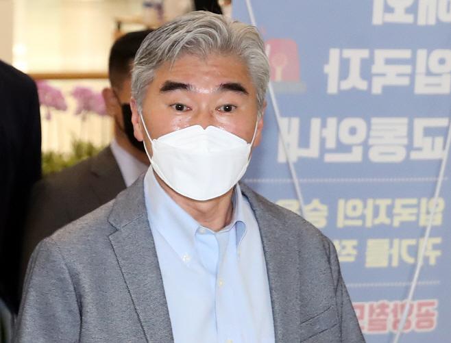 '북핵 협상 총괄' 성 김 미국 국무부 대북특별대표 입국