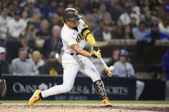 Dodgers Padres Baseball <YONHAP NO-3038> (AP)