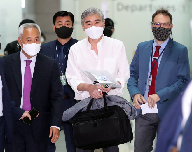 한국 떠나는 성 김 미국 국무부 대북특별대표