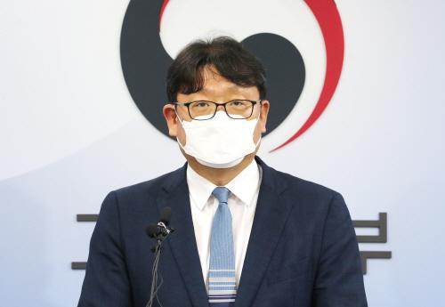 주52시간제 관련 브리핑하는 권기섭 노동정책실장