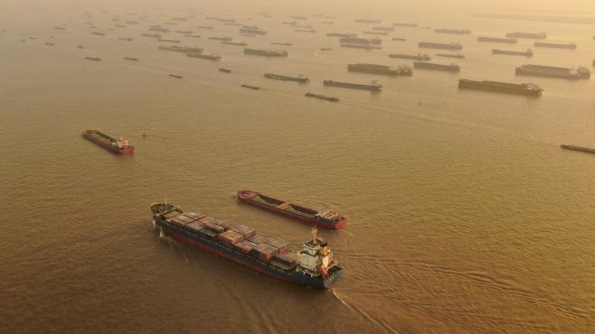 China Trade <YONHAP NO-4113> (AP)