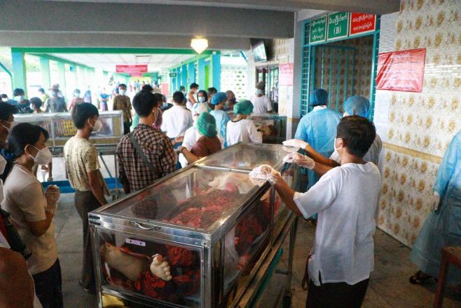 Virus Outbreak Myanmar <YONHAP NO-0106> (AP)