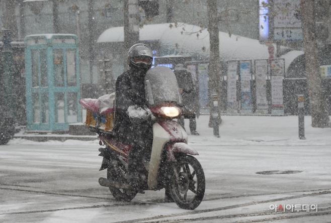 [포토]눈 내리는 서울