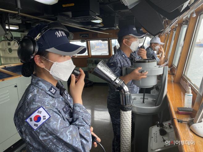 문무대왕함 출항 전 팀워크 훈련 및 장비점검 (5)