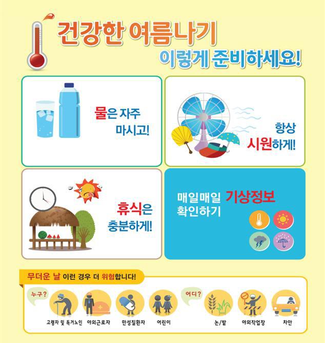 온열질환 예방수칙