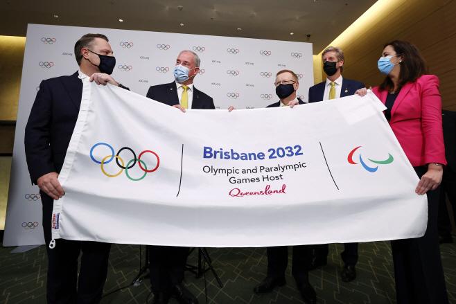 Tokyo Olympics 2032 Host Brisbane <YONHAP NO-4436> (AP)