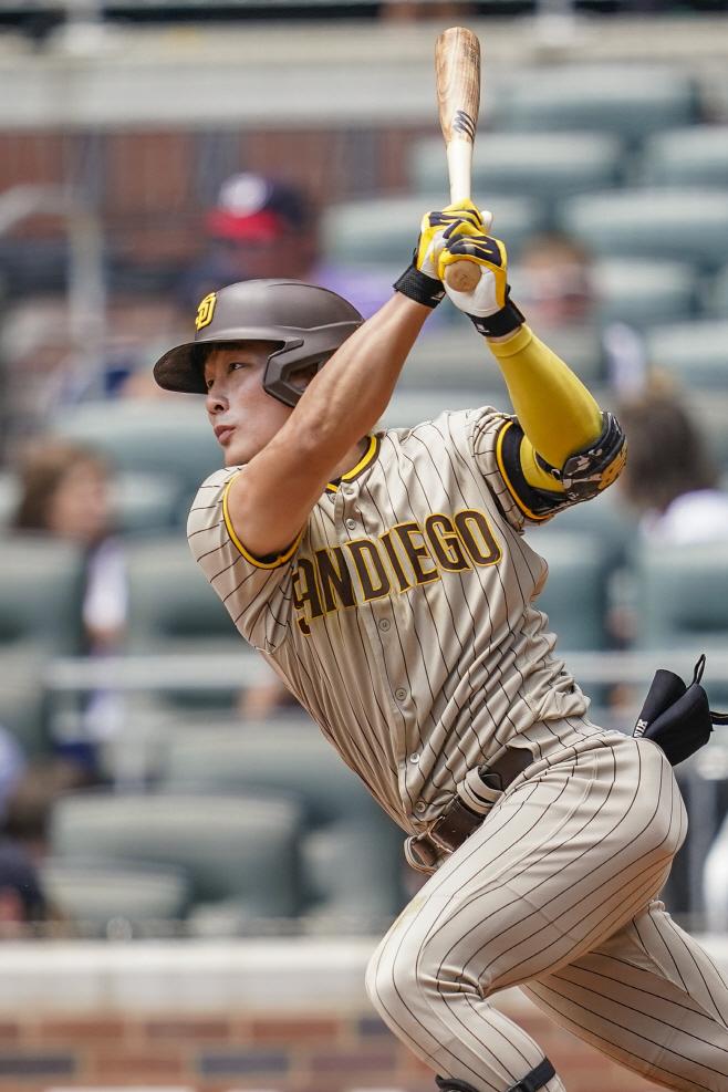 BASEBALL-MLB-ATL-SD/ <YONHAP NO-0984> (USA TODAY Sports)
