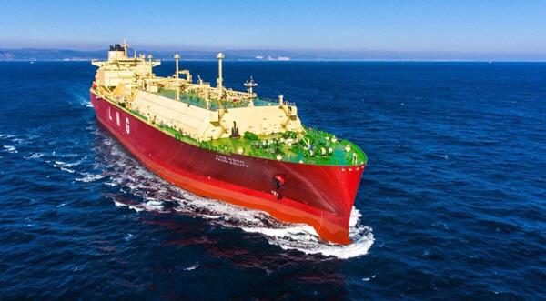 LNG운반선. 출처=한국조선해양