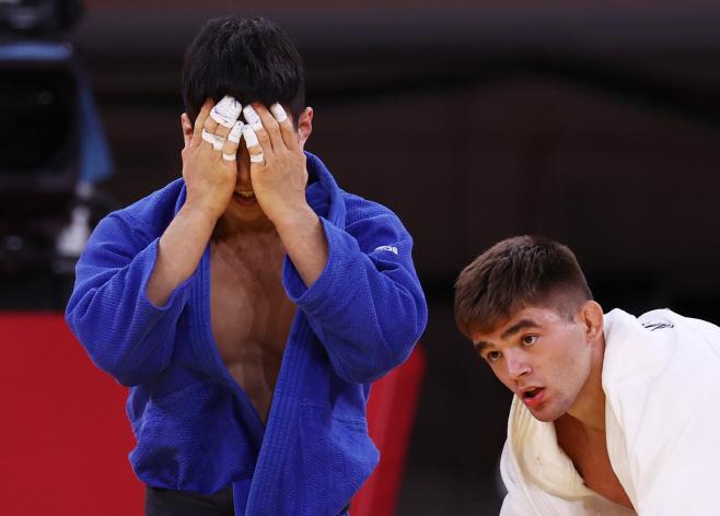 [올림픽] 안바울 동메달<YONHAP NO-5398>