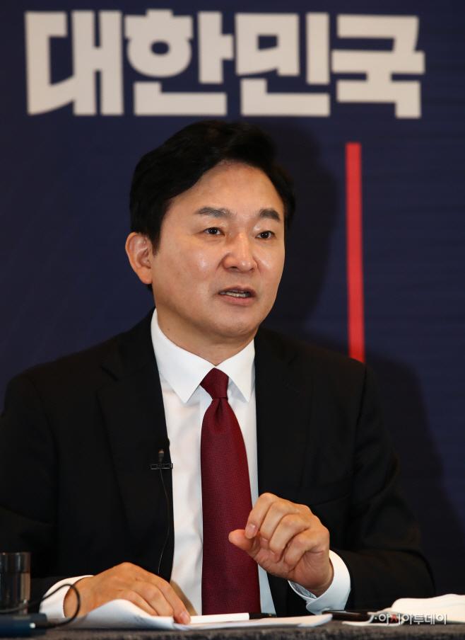 원희룡 제주지사, 대선 출마 선언