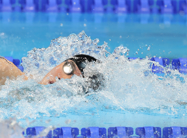 [올림픽] 도쿄 물살 가르는 '수영 샛별' 황선우