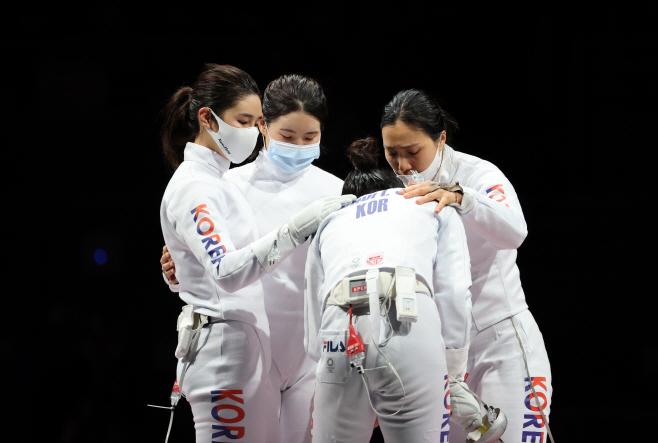 [올림픽] 아쉬운 은메달<YONHAP NO-5001>
