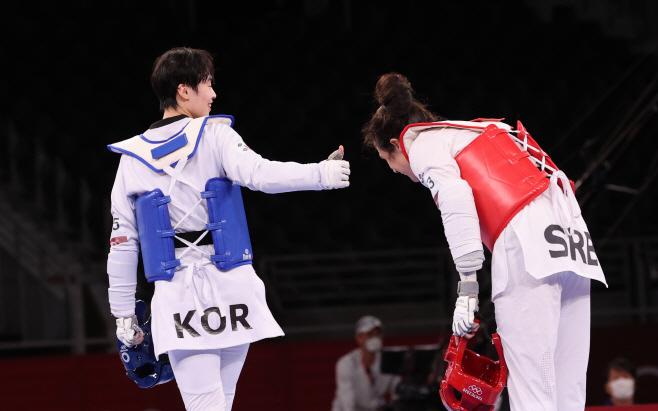 [올림픽] 이다빈 아름다운 패배 인정