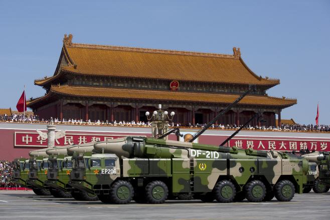 China Military <YONHAP NO-3437> (AP)