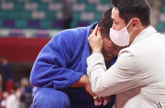 [올림픽] 울먹이는 조구함