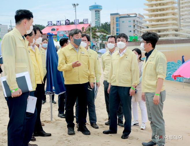 해수부 엄기두 차관, 만리포 찾아 운영상황 점검
