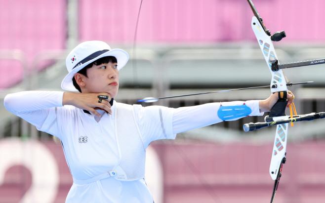 [올림픽] 안산 양궁 개인전 8강 경기