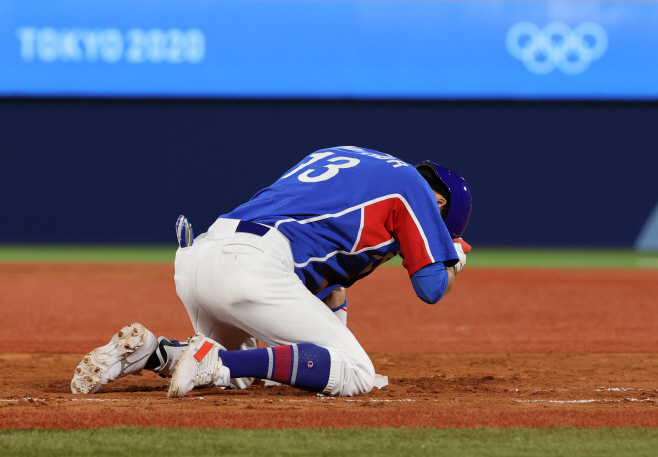[올림픽] 한국야구 미국에 패배<YONHAP NO-3817>