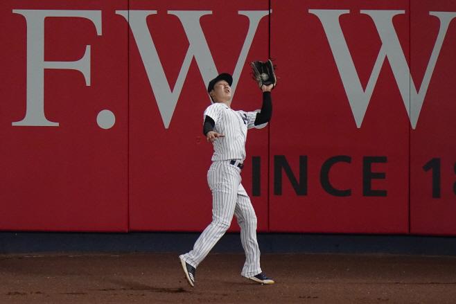 Red Sox Yankees Baseball <YONHAP NO-3354> (AP)