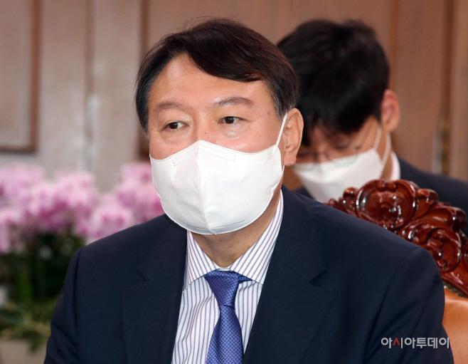 [포토] 윤석열 '박병석 국회의장 예방'