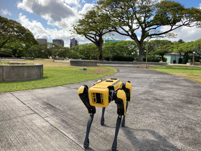 Robotic Police Dogs