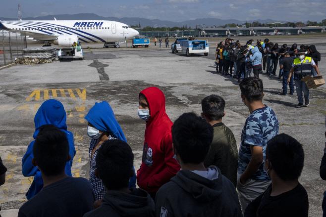 Guatemala Mexico Migrants <YONHAP NO-0533> (AP)