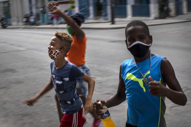 Virus Outbreak Cuba <YONHAP NO-0279> (AP)