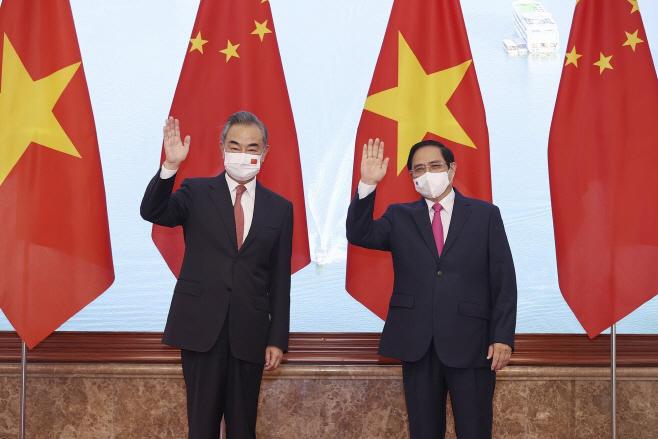 Virus Outbreak Vietnam China <YONHAP NO-0740> (AP)
