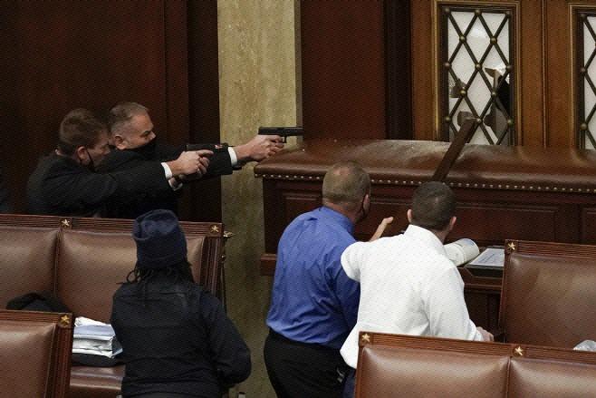 미 의회 습격