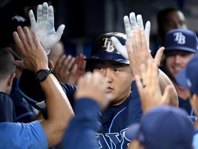 BASEBALL-MLB-TOR-TB/ <YONHAP NO-2536> (USA TODAY Sports)