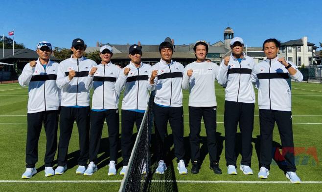 권순우 등 테니스 대표팀