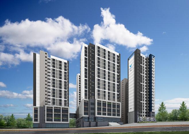 서울 황학동 지역주택조합아파트 투시도