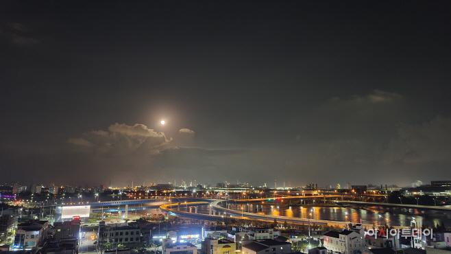 광양 보름달