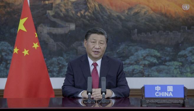 UN General Assembly China <YONHAP NO-0963> (AP)