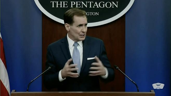 존 커비 미 국방부 대변인