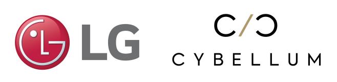 [사진] LG전자와 사이벨럼 로고