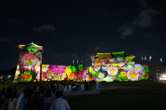 수원화성 미디어아트쇼 개막