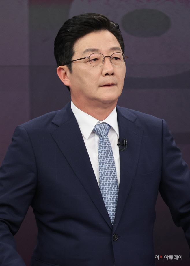 [포토] 유승민 대선 경선 후보 첫 방송토론회