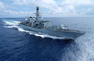 영국 호위함 리치몬드호