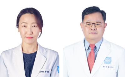 정신건강의학과 박혜연 교수(좌), 신경과 김지수 교수(우)